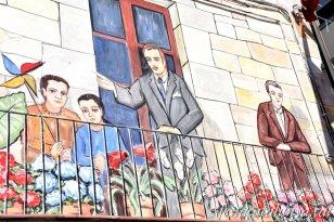 Navarcles - Mural de la Plaça de la Vila