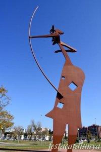 Mataró - Escultures urbanes - Laia l'Arquera