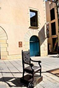 Mataró - La Cadira de l'Alcalde