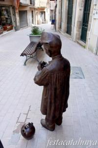 Sant Hilari Sacalm - Carrer Vic - Estàtua Jaumet