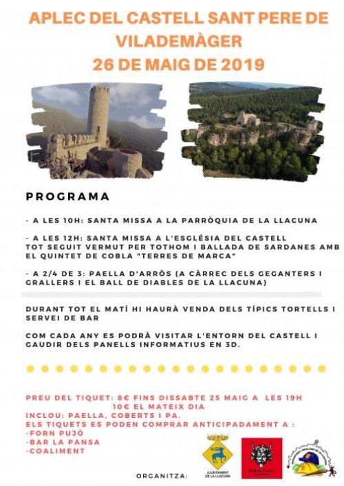 La Llacuna - Aplec del Castell de Sant Pere de Vilademàger