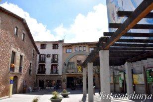 Sant Hilari Sacalm - Plaça Porxada