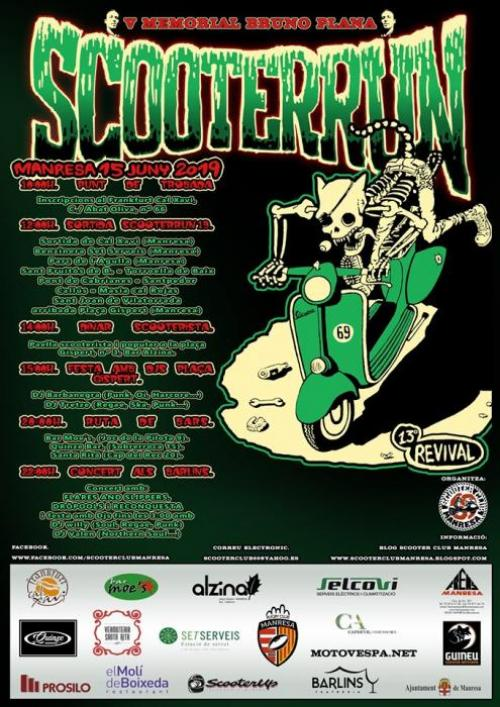 Scooter Run Manresa Revival