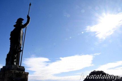 Tossa de Mar - Escultura de Minerva