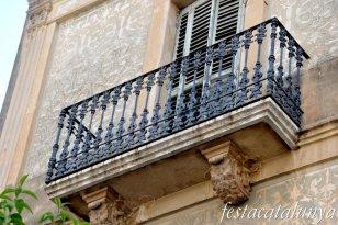 Amposta - Casa Palau-Fàbregas, antiga casa del Francès