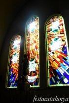 Molins de Rei - Vitralls de l'església de Sant Miquel Arcàngel - Capella de la Puríssima