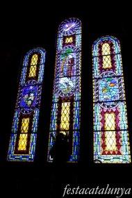 Molins de Rei - Vitralls de l'església de Sant Miquel Arcàngel - Vitralls Sant Antoni de Pàdua