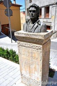 Roda de Ter - Bac de Roda, casa natal i monument