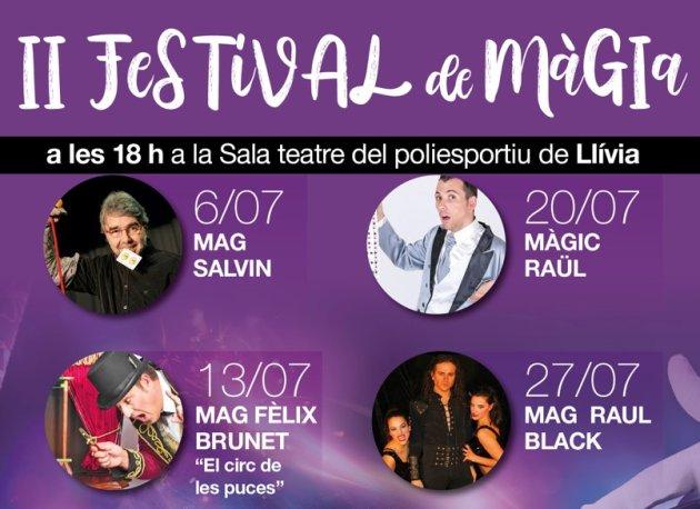 Llívia - Festival de Màgia