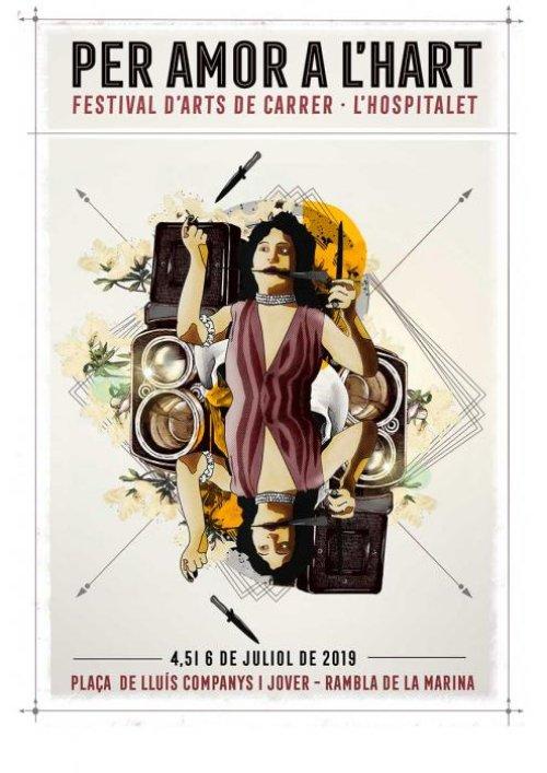 L'Hospitalet de Llobregat - Per Amor a l'Hart, Festival d'Arts de Carrer