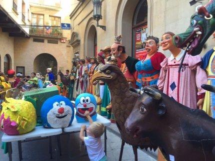 Solsona - Trobada de Gegantons i Festa dels Oficis (Foto: www.solsonaturisme.com)