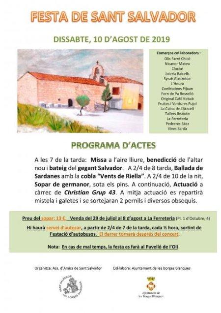 Les Borges Blanques - Festa de Sant Salvador