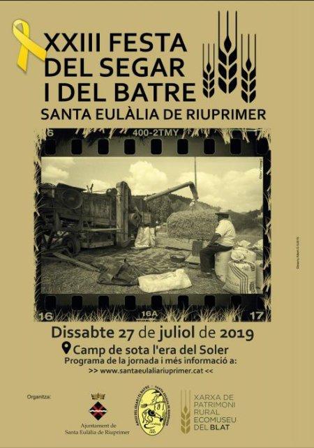 Santa Eulàlia de Riuprimer - Festa del Segar i el Batre