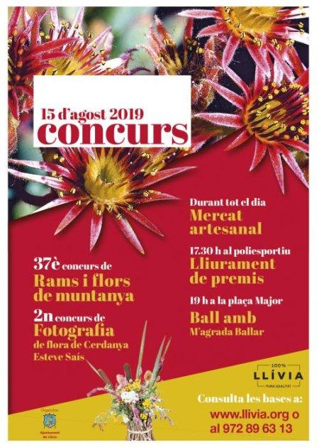 Llívia - Concurs de Rams de Flors de Muntanya i Concurs de Fotografia de Flora de Cerdanya llivia, concurs, rams, flors, muntanya, concurs, fotografia
