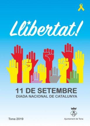 Tona - Diada Nacional de Catalunya