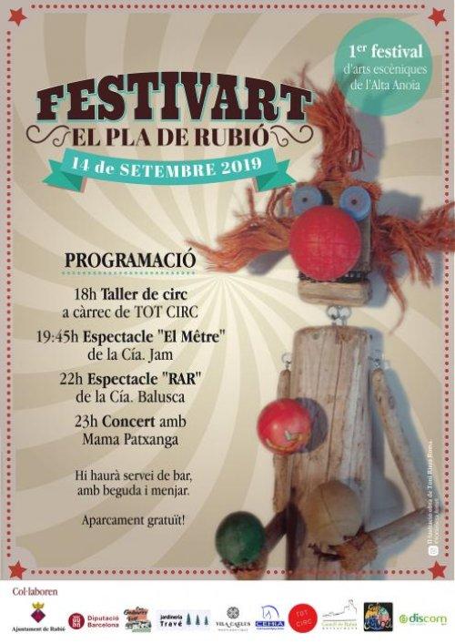Rubió - Festivart el Pla de Rubió
