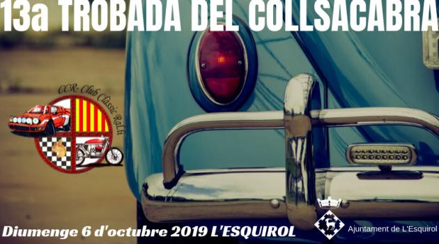 L'Esquirol - Trobada del Collsacabra, cotxes antics i clàssics veterans
