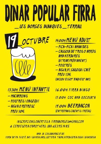 Les Borges Blanques - FIRRA, Fira de la Cervesa Artesana