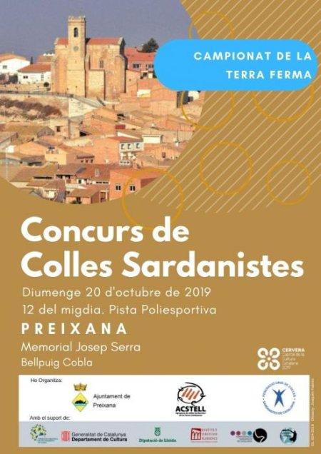 Preixana - Concurs de Colles Sardanistes
