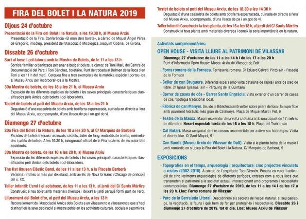 Vilassar de Dalt - Fira del Bolet i la Natura