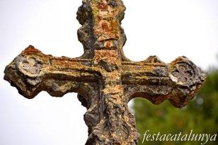La Llacuna - Creu de terme del Pla