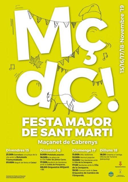 Maçanet de Cabrenys - Festa Major de Sant Martí