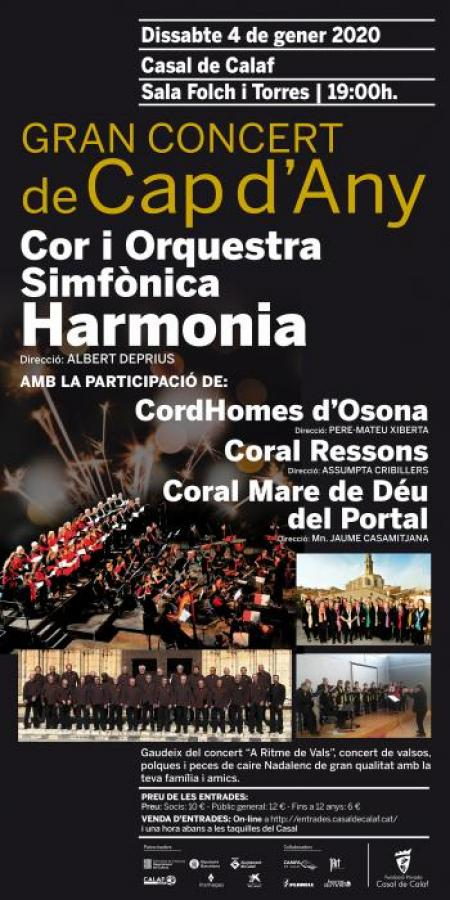 Calaf - Gran Concert de Cap d'Any al Casal