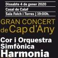Gran Concert de Cap d'Any al Casal de Calaf