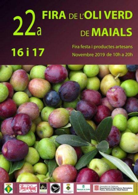 Maials - fira de l'Oli Verd