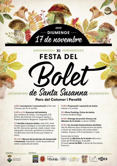 Santa Susanna - Festa del Bolet