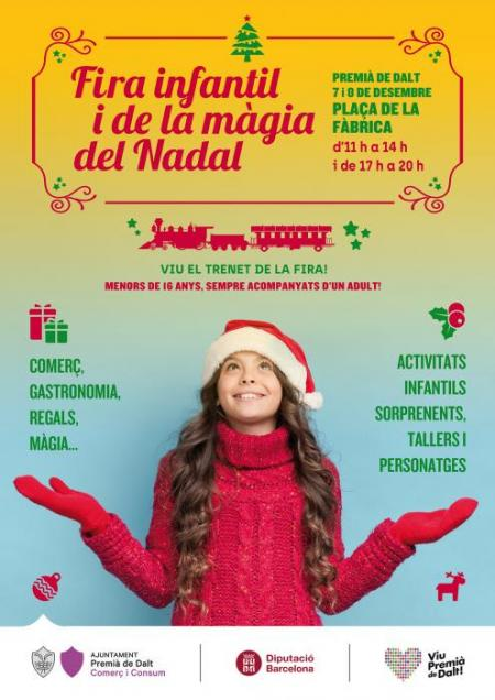 Premià de Dalt - Fira Infantil i de la Màgia del Nadal