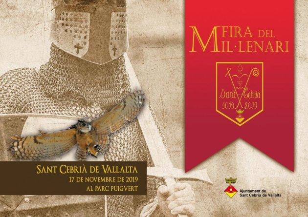 Sant Cebrià de Vallalta - Fira del Mil·lenari