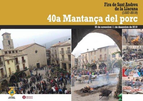 La Llacuna - Fira de Sant Andreu