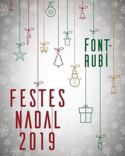 Font-rubí - Festes de Nadal