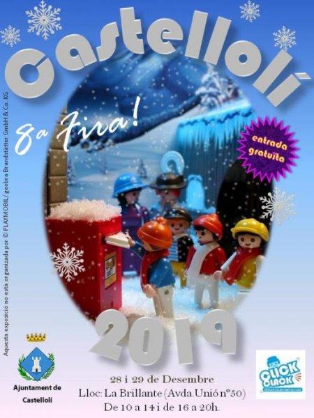 Castellolí - Fira Playmobil