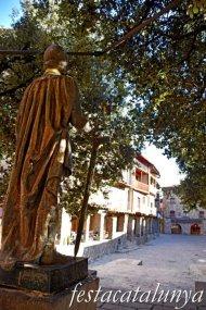 Bagà - Plaça Galceran de Pinós