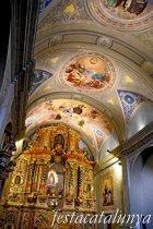 Bagà - Santuari de la Mare de Déu del Paller - Retaule Major