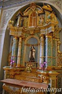 Bagà - Santuari de la Mare de Déu del Paller - Retaule Santa Teresa de Jesús