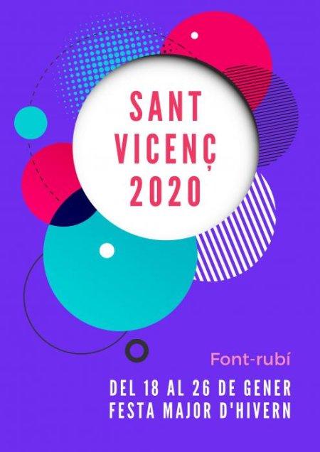 Font-rubí - Festes de Sant Vicenç, Festa Major d'Hivern