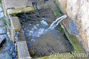 Vilanova de Prades - Font Vella