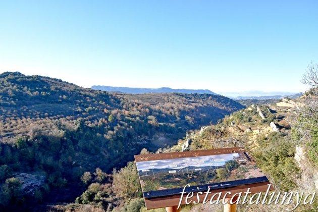Vilanova de Prades - Vistes panoràmiques des del castell