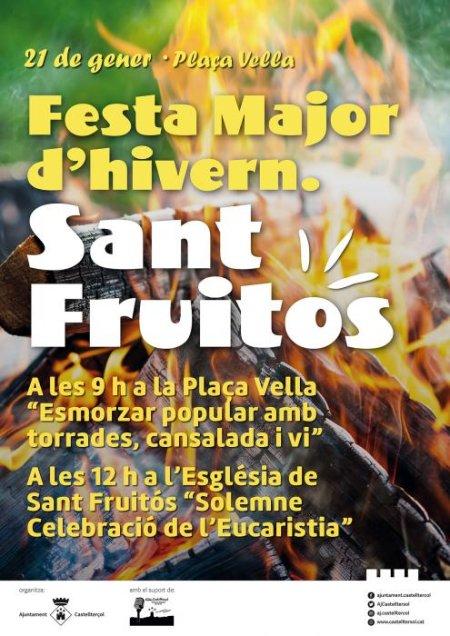 Castellterçol - Sant Fruitós, Festa Major d'Hivern
