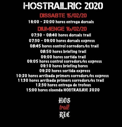 Hostalric - Hostrailric, Cursa de Muntanya