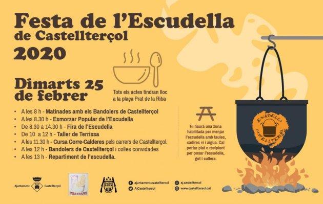 Castellterçol - Festa de l'Escudella