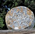 Esteles funeràries al cementiri de Savallà