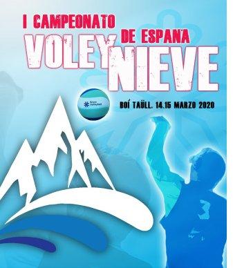 La Vall de Boí - Campionat d'Espanya de Volei Neu