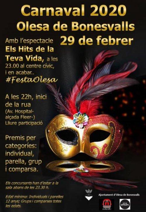 Olesa de Bonesvalls - Carnaval