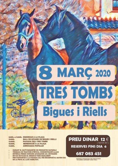 Bigues i Riells - Tres Tombs