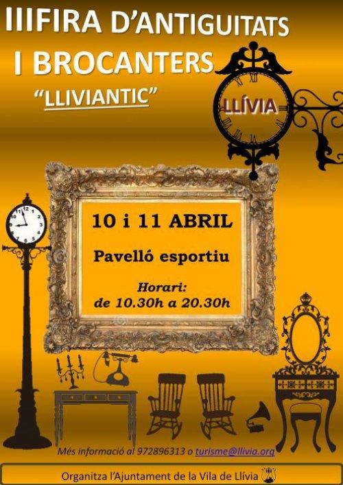 Llívia - Lliviantic, Fira d'Antiguitats i Brocanters