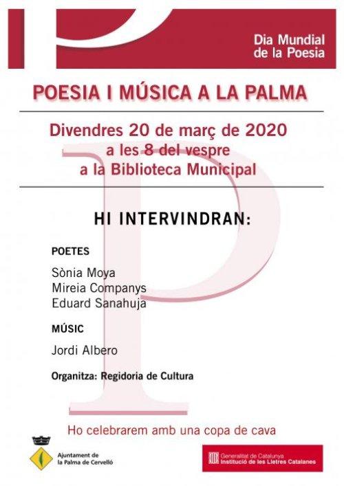 La Palma de Cervelló - Poesia i Música